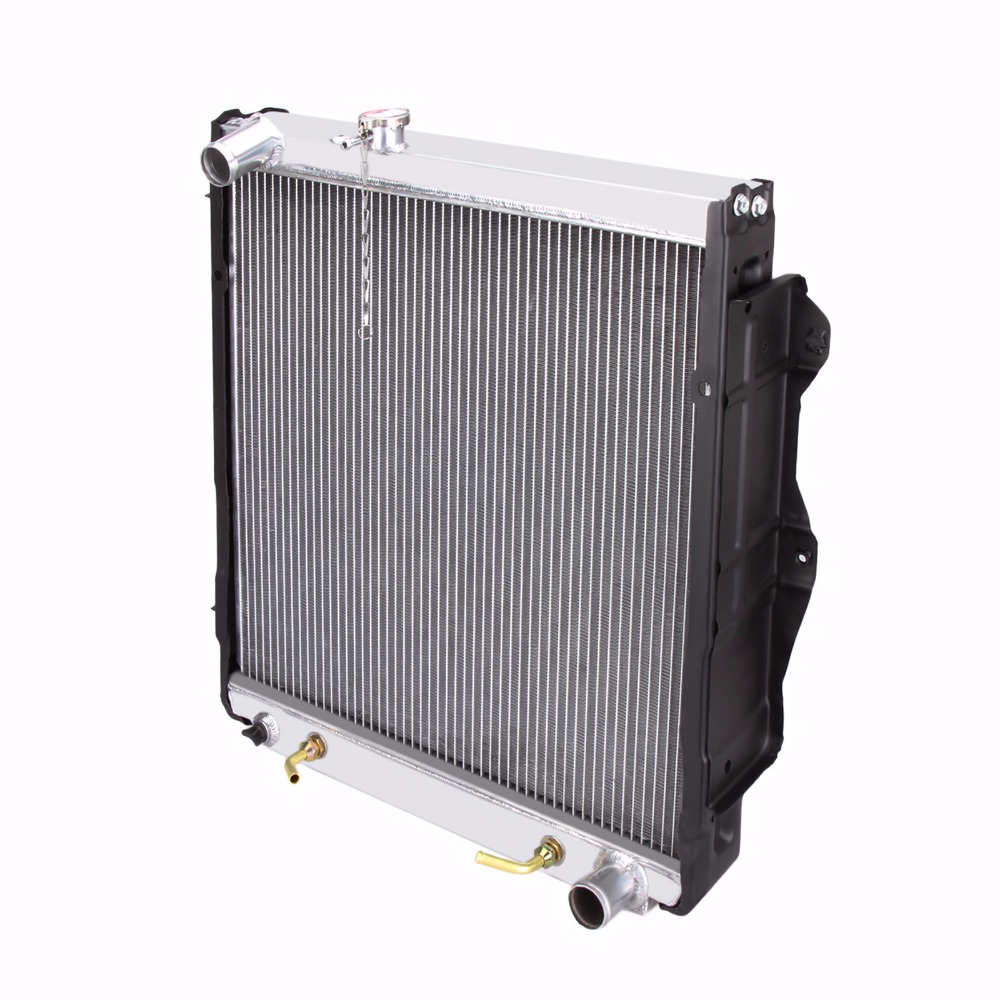 Full Aluminum cooling Radiator for KZJ7 KZJ 1KZTE 3.0L Diesel TD 93 96 1640037030-in Grates from Home Improvement