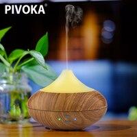 PIVOKA USB Electric Ultrasonic Aroma Humidifier Air Diffuseur Huile Essentiel Essential Oil Diffuser Humidificador Mist Make