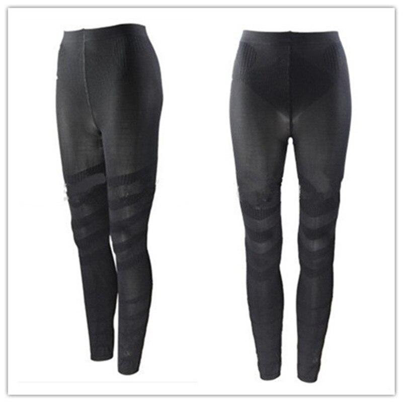 Leg Shaper Pants Compression Control Panties Massage Body Heath Varicose veins Women Legs Shapers Lose Fat Tights Shapewear