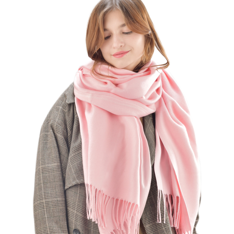 FURTALK women winter scarf stylish bohemian style wavy stripe pattern voile bib scarf for women