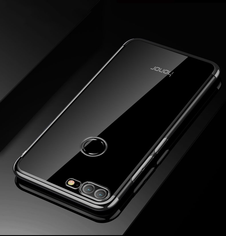 new york 42ef8 7863e MAKAVO For Huawei Honor 9 Lite Case Luxury Soft Clear Transparent Plating  Cover Phone Cases For Honor 9 Lite Honor9 Lite