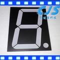 "(50Pcs/lot) 0.56"" inch 1 Digit 7 Seven Segment Red Light LED Numeric Digital Display,Common Anode"