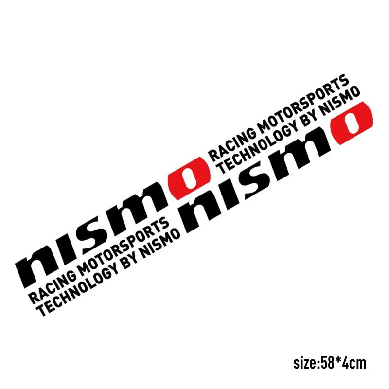 NISMO SPORT Car Stickers Door sticker For Nissan qashqai 2015 juke x ...