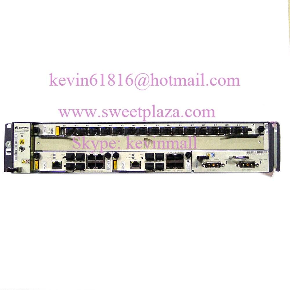 1*mpwc+1*gpfd C Aspiring Hua Wei Mini Gpon Or Epon Olt Ma5608t With 2*mcud1 Diversified Latest Designs