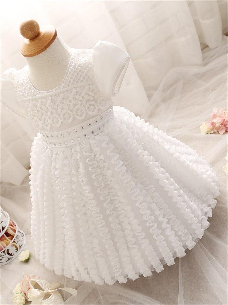 c73c5b9f9c916 White Dress For Newborn Baby Girl | Toffee Art
