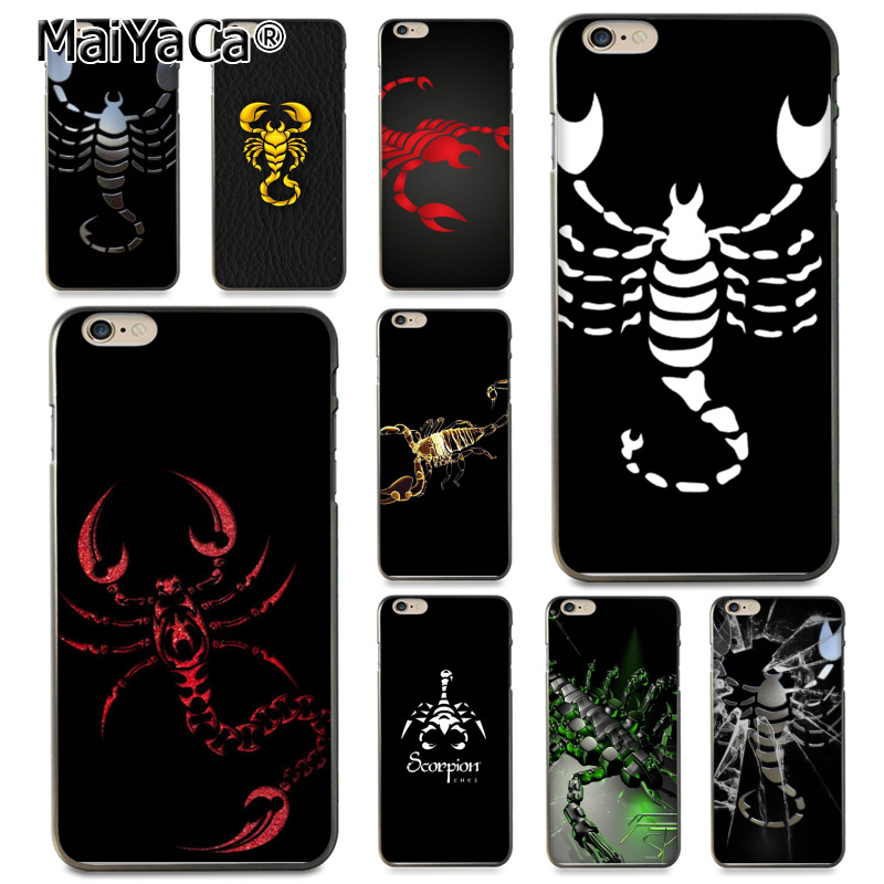 coque iphone 8 scorpion
