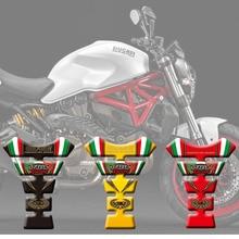 """Новая высококачественная Защитная Наклейка на бак для мотоцикла Наклейка """"кость"""" 3D накладка на бак для Ducati 748 916 996 998"""