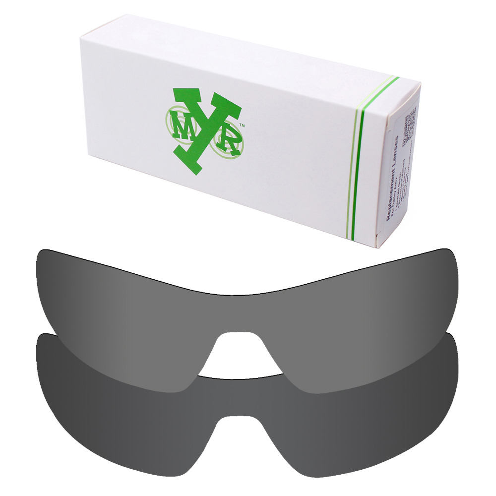 fb0b4faebc 2 Pieces Mryok POLARIZED Replacement Lenses for Oakley Offshoot Sunglasses  Lens Stealth Black   Black Iridium
