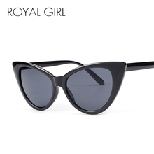 2013 Fashion Women Black Cat Eye Sunglasses Free Shipping