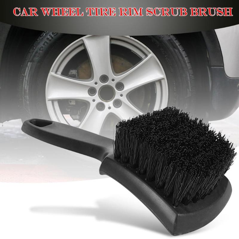 Car Wheel Tire Rim Scrub Brush Auto Detailing Brush Special PP Silk Brush Cleaner And More Thorough Cleaning Tool Accessories