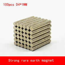 100pcs 4x1mm mini rare earth magnets strong neodymium disc magnet wholesale 4*1mm