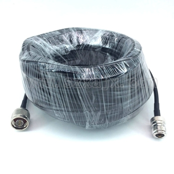 N macho a conector N Hembra cable de antena RG58 Cable Pigtail 50 cm-20 m para Yagi/panel antena al aire libre