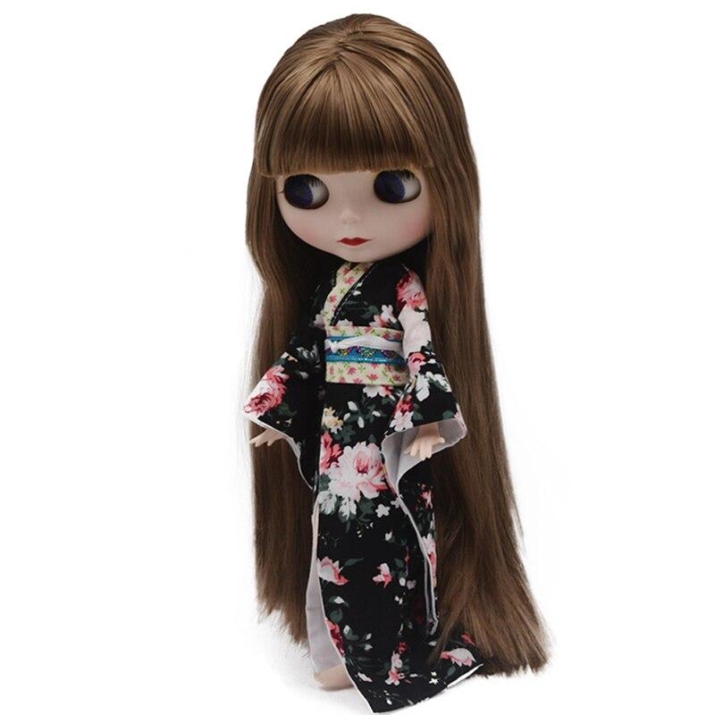 Blyth poupée BJD, néo Blyth poupée nue personnalisée dépoli visage poupées peuvent changer de maquillage et robe bricolage, 1/6 balle articulée poupées SO34