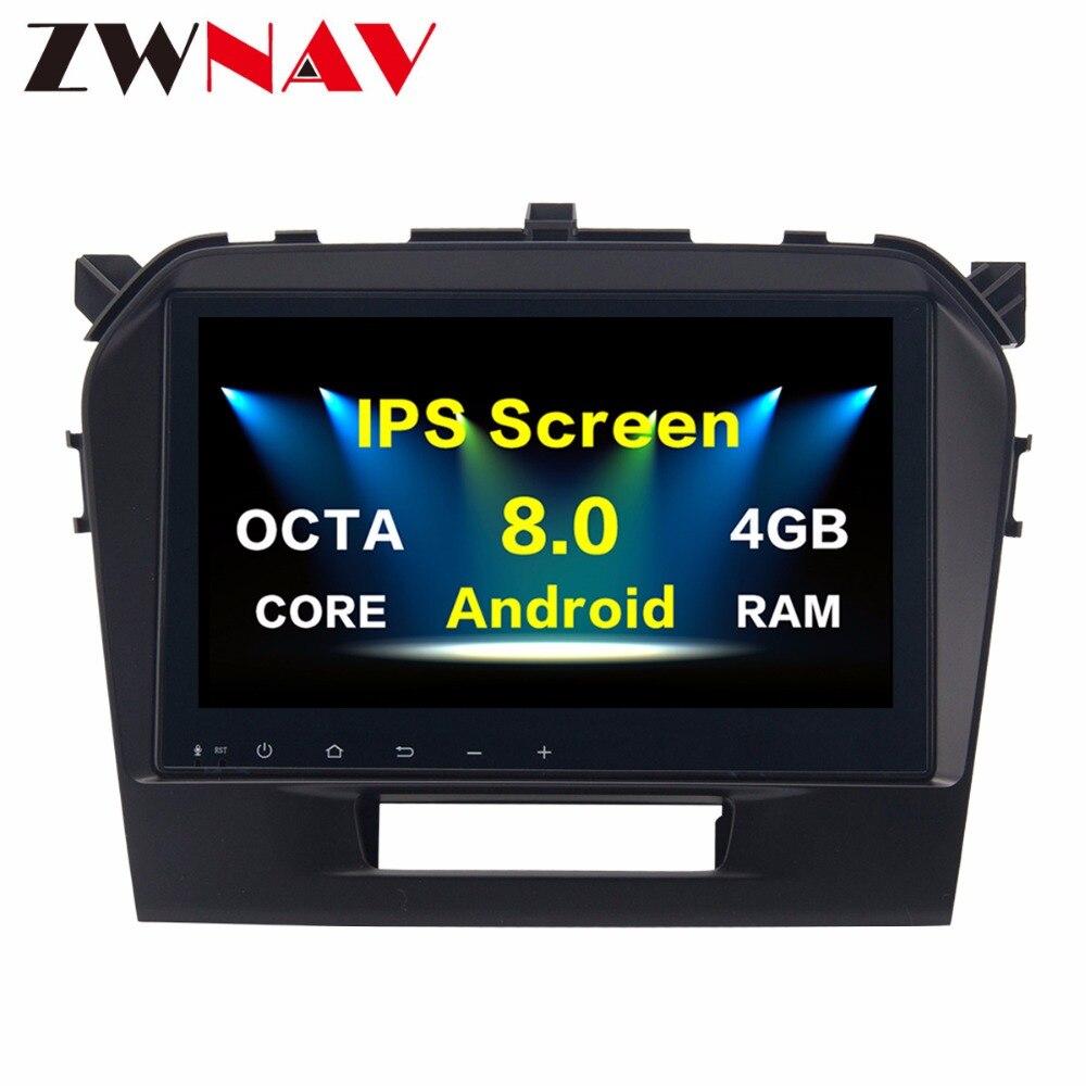 Top qualité Android 8.0 Octa Core PX5/PX3 stéréo multimédia adapté pour Suzuki ViTARA 2016-lecteur DVD de voiture Navigation GPS Radio
