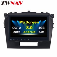 top quality Android 8.0 Octa Core PX5/PX3 Multimedia Stereo Fit for Suzuki ViTARA 2016 Car DVD Player Navigation GPS Radio