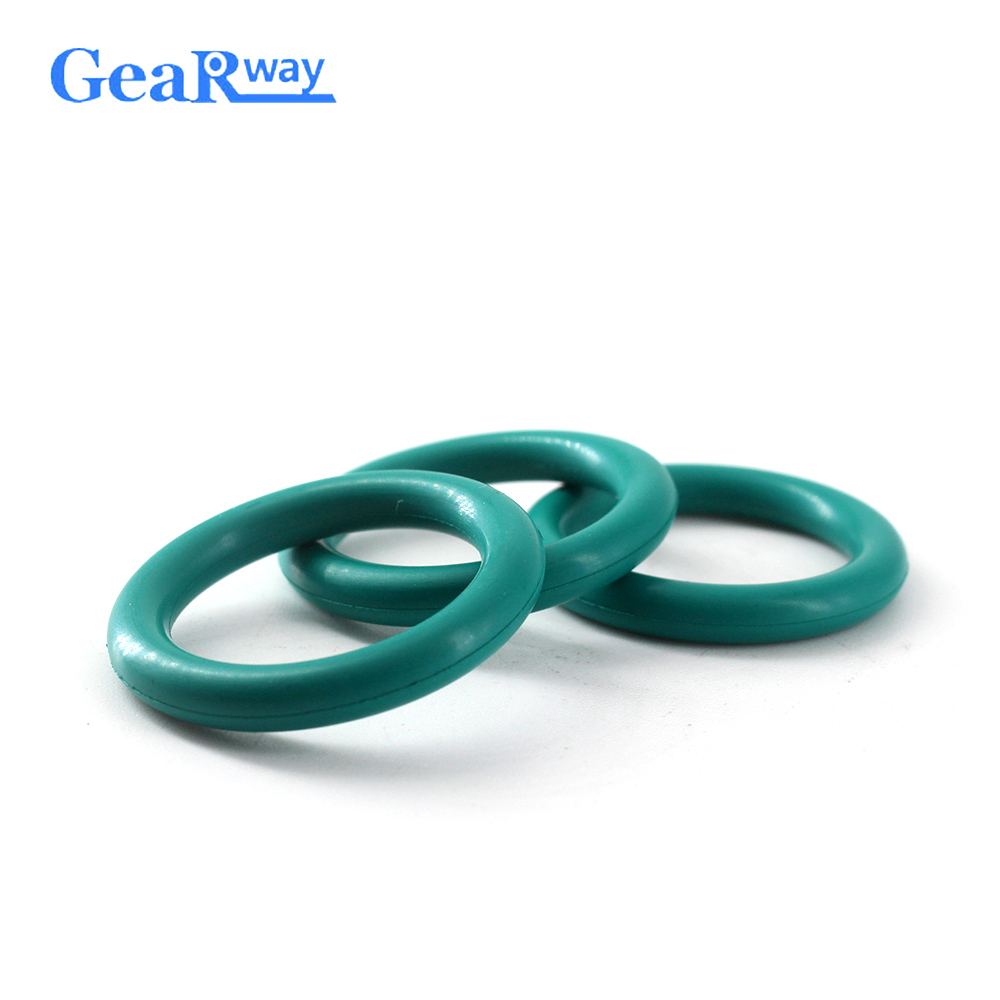 Gearway Green FKM O Ring Seal 5.7mm thickness Sealing Gasket 62/63/65/67/97/98/100mm OD 70SH Hardness