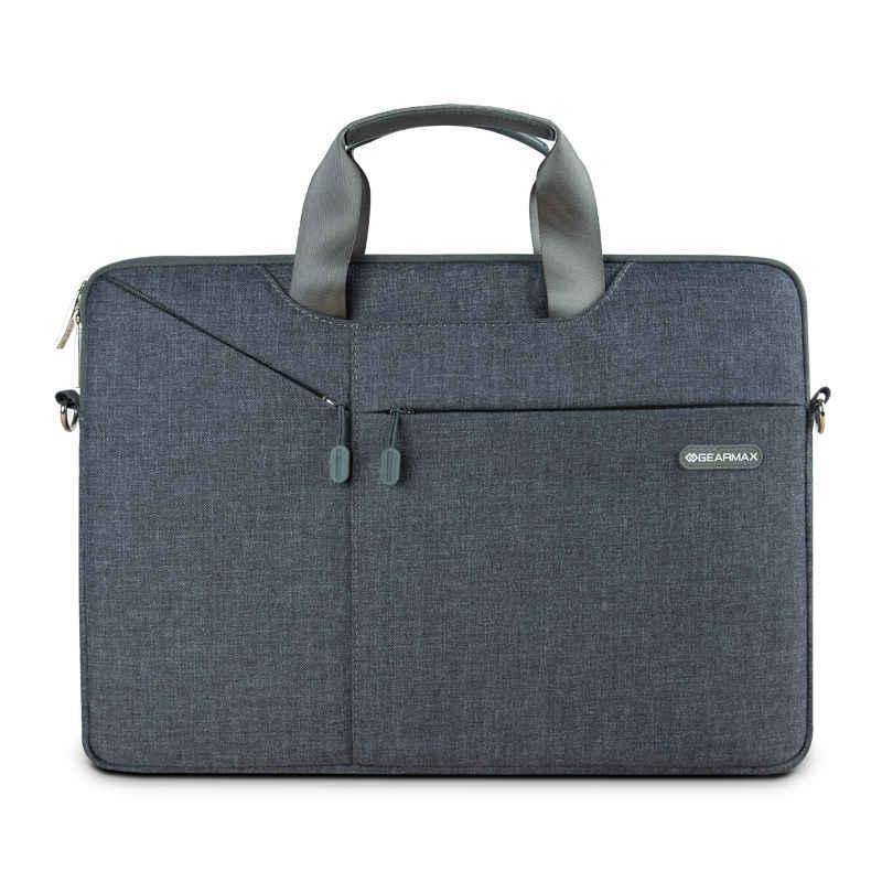 b9617dfe170d ... Сумка для ноутбука Gearmax 13 14 15 15,6 нейлоновая непромокаемая сумка  для ноутбука Женская ...