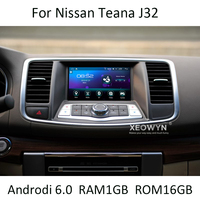 Quad core android 6,0 dvd плеер автомобиля для NISSAN Teana J32 2008 ~ 2012 для Ниссан Максима A35 gps навигации BT стерео AUX
