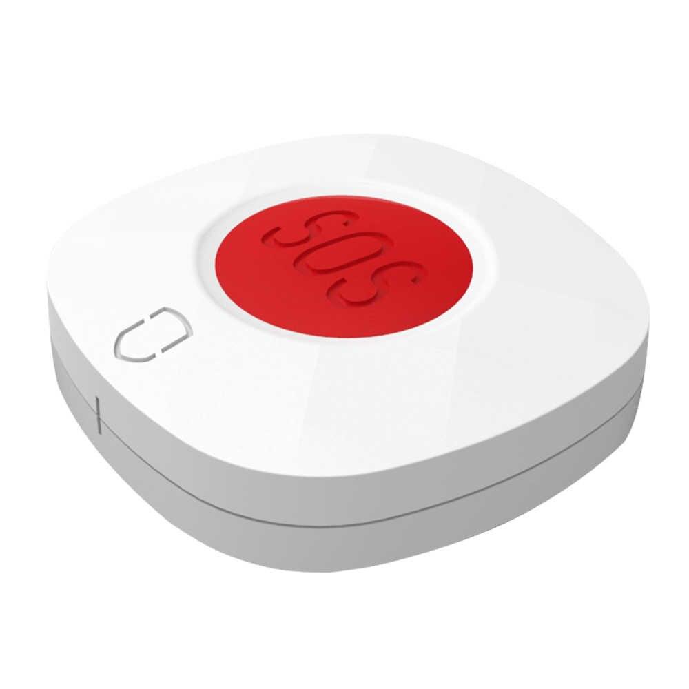 9 pcs Wolf-Guard 433 MHz Senza Fili Di Allarme di Emergenza Panico SOS Pulsante Home Ospedale di Sicurezza Sistema di Allarme per Gli Anziani /i pazienti/Bambino