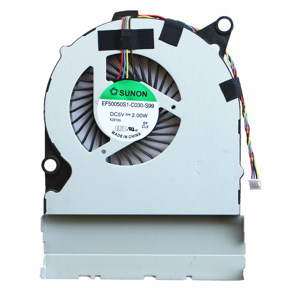 New Cpu Cooling Fan For Pegatron DNS B14 B14Y Cpu Cooling Fan EF50050S1-C030-S99 DC5V 2.00W cpu cooling conductonaut 1g second liquid metal grease gpu coling reduce the temperature by 20 degrees centigrade
