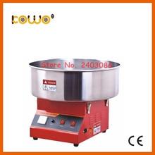 Из нержавеющей стали, Электрический cotton candy floss машина чайник ce RoH коммерческих 1 единица/30 секунд 110 В 220 В 1080 вт кухонный прибор