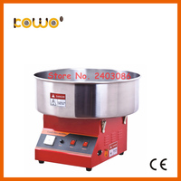 stainless steel electric cotton candy floss machine maker ce RoH commercial 1 unit/30 seconds 110V 220V 1080w kitchen appliance