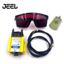 450nm 5500mW 12V Adjustable Focus Laser Module With TTL /PWM,5.5W Laser Engraving And Cutting TTL Module +Goggles tgleiser 450nm 15000mw 12v blue laser module ttl adjustable focus diy 15w laser cutter