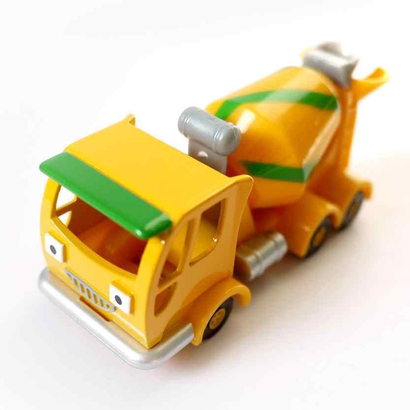 D918 새로운 선물 뜨거운 판매 어린이 장난감 밥 빌더 엔지니어 합금 장난감 자동차 트럭 모델 (텀블러)