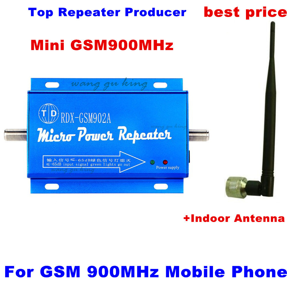 1Set New Mini 2G GSM 900mhz 900 Mobile Phone Cell Phone Signal Booster Enhancer Repeater Amplifier 300m2 With Yagi Antenna