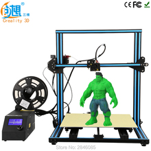 CREALITY 3D CR-10 3D printer I3 Mega full metal frame colorful industrial grade high precision affordable 3d print