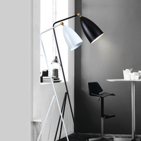 floor lamps City personality fashion multicolor floor lamp retro creative study living room bedroom floor lights