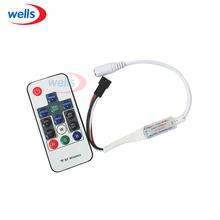 Newest Wireless RF Digital Color LED Controller 5V use for WS2811 WS2812 WS2812B strip light