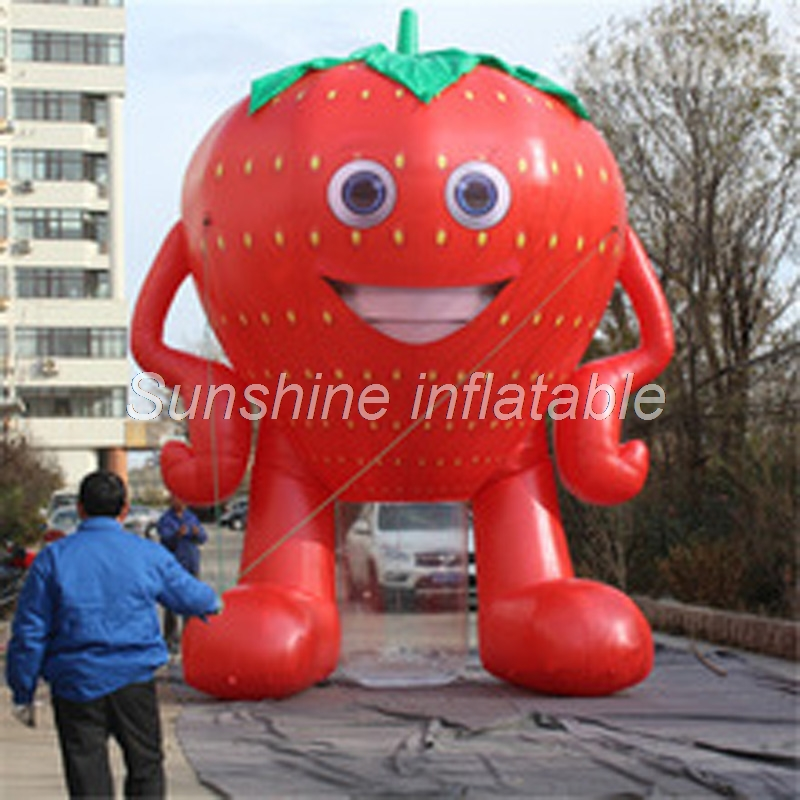 2018 new arrival giant inflatable strawberry fruit model for outdoor event decoration2018 new arrival giant inflatable strawberry fruit model for outdoor event decoration