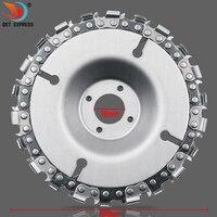 4 дюйма шлифовальный диск и цепи 22 зуб тонкой абразивные отрезные пилы цепи для 100 мм угловой шлифователь