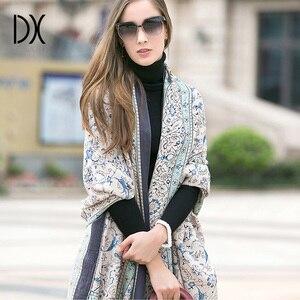 Image 5 - 2019 moda quente inverno cachecol para as mulheres cachecol de luxo marca cashmere grande cachecol wrapwomen cobertor pashmina xale muçulmano hijab