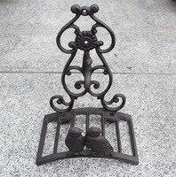 Garden hose holder / Water pipe holder / home decoration / Storage holder / Retro / Antique