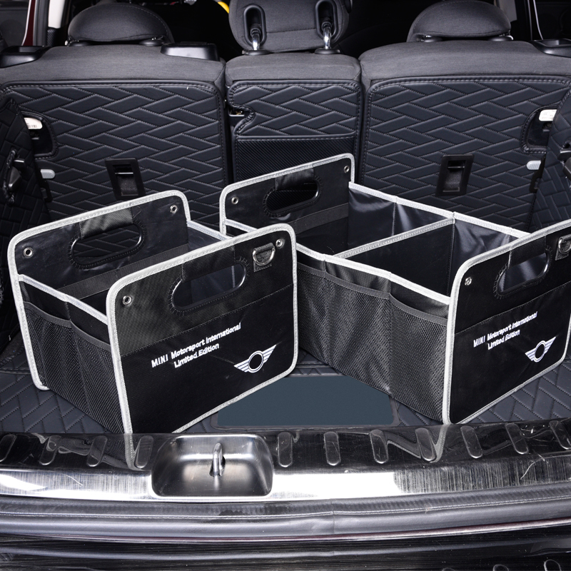 Folding Car Trunk Storage Bag Stowing Tidying Bag Organizer Storage Box Container For BMW MINI Cooper S F54 F56 F60 R60 CLUBMAN