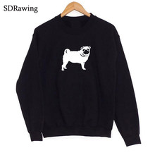 Funny cute Samoyed print cotton Sweatshirts for women girlfriend Graphic Sweatshirts summer casual tops plus size drop ship(China)