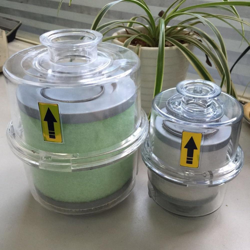 Vacuum pump oil mist filter fume separator exhaust filter KF40 interface made in china vacuum pump oil mist separator exhaust filter 0532140154