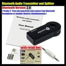 Audio-Transmitter 2-Multi-Point Dongle-Adapter iPod Stereo Wireless Splitter Bluetooth