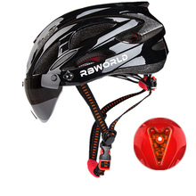 Bicycle Helmets  Men Women Bike Helmet Back Light MTB Mountain Road Ciclismo Integrally Molded Cycling Safety Cap