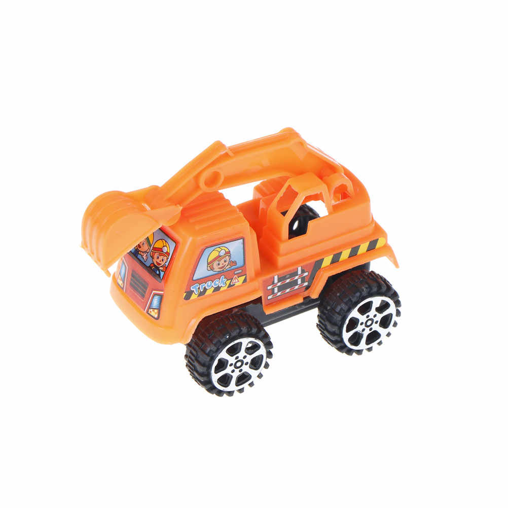 1 Pcs Mini Mainan Mobil Traktor Truk Mainan Mobil Lucu Mobil untuk Anak Laki-laki Tarik Kembali Model Mobil Anak Kualitas Tinggi mainan Hadiah