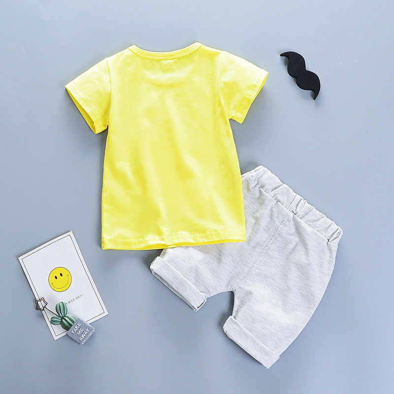 Футболка с принтом «гусиный Гусь», топ + короткие штаны, одежда, 2 предмета, летняя одежда для маленьких девочек, комплекты одежды для девочек, Прямая поставка