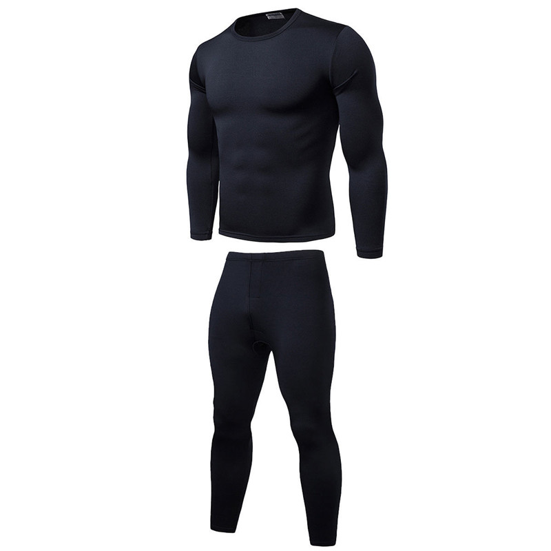 Brand New Mens Winter Ultra-Soft Fleece Lined Thermal Top Bottom Long John Underwear Set