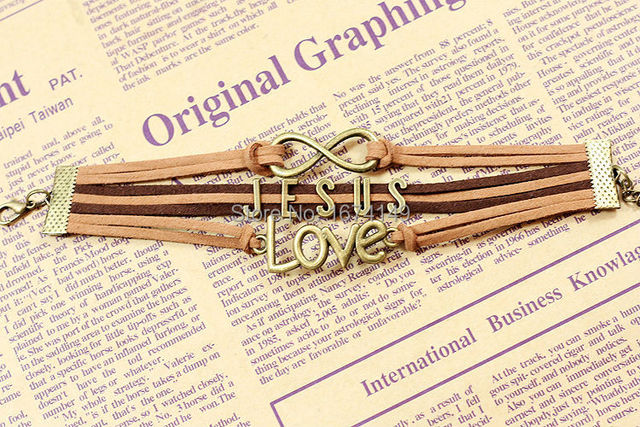 Jesus Redeemed Love Hand Catenary Yarn Bracelet Bracelet Love