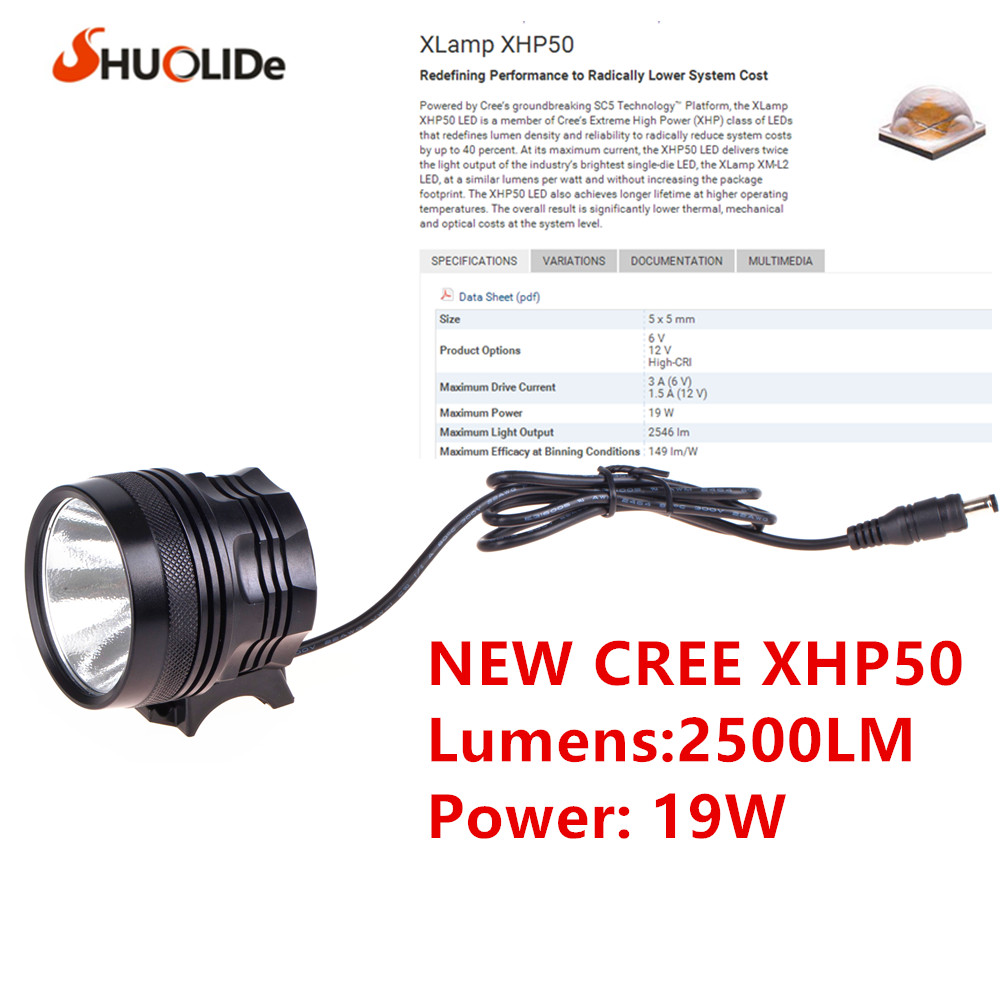 The new headlamp headlight glare CREE XHP50 Bicycle Light headlight 18650 head lamp lampe bike light the new headlamp headlight glare cree xhp50 bicycle light headlight 18650 head lamp lampe bike light