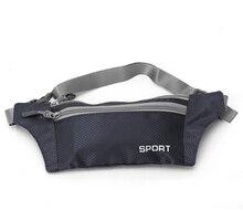 TEXU Unisex Waterproof Waist Packs Nylon Zip fanny Bag Waist Pack Pouch Travel Belt Bag