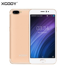 In Stock XGODY 3G Unlock Dual Sim 5.5 Inch Smartphone Android 5.1 MT6580A Quad Core 1G+16G Touch Mobile Cell Phone 2350mAh 8.0MP