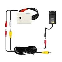 CCTV высокочувствительный микрофон комплект с 10 M RCA аудио Мощность кабель и DC 12 V адаптер для охранных камера DVR NVR Системы