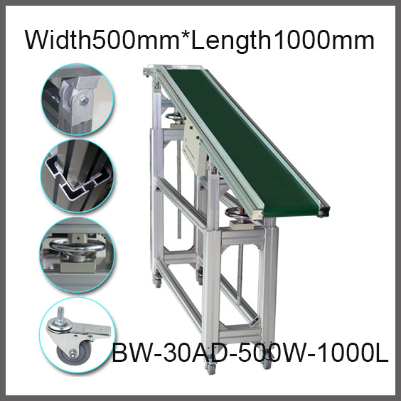 Factory supply Inclined Belt conveyor adjustable conveyor baffle conveyor slope belt conveyor climbing belt machine